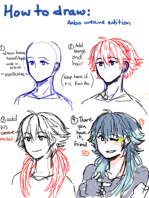 how to draw mullet fish